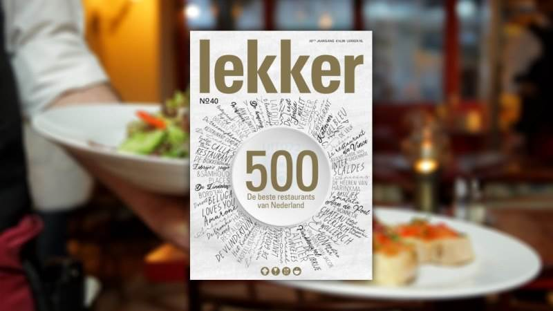 Lekker 2018 Top 500 restaurants