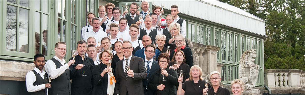 Team foto kasteel engelenburg